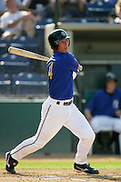 August 9 2009: Andrew Romine of the Rancho Cucamonga Quakes during game against the San Jose Giants at The Epicenter in Rancho Cucamonga,CA.  Photo by Larry Goren/Four Seam Images