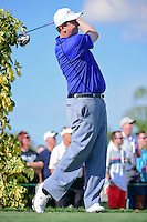 J.J. Henry (USA) watches his tee shot on 13 during round 1 of the Honda Classic, PGA National, Palm Beach Gardens, West Palm Beach, Florida, USA. 2/23/2017.<br /> Picture: Golffile | Ken Murray<br /> <br /> <br /> All photo usage must carry mandatory copyright credit (&copy; Golffile | Ken Murray)
