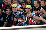 Gran Premio TIM de San Marino during the moto world championship in Mugelo-marco Simonccelli circuit.<br /> 14-09-2014<br /> Races-Moto3<br /> alex rins <br /> alex marquez<br /> PHOTOCALL3000