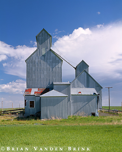 Grain Elevators, Cottonwood, South Dakota