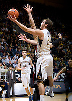 Ricky Kreklow of California shoots the ball during the game against Stanford at Haas Paviliion in Berkeley, California on March 6th, 2013.  Stanford defeated California, 83-70.