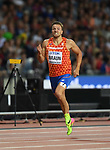 Pieter BRAUN (NED) in the mens decathlon 400m. IAAF world athletics championships. London Olympic stadium. Queen Elizabeth Olympic park. Stratford. London. UK. 11/08/2017. ~ MANDATORY CREDIT Garry Bowden/SIPPA - NO UNAUTHORISED USE - +44 7837 394578