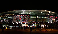 A general view of fans gathering at the stadium during the Premier League match between Arsenal and Huddersfield Town at the Emirates Stadium, London, England on 29 November 2017. Photo by Carlton Myrie / PRiME Media Images.