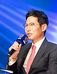 Yeom Kyung-Yup, Mar 28, 2016 : South Korean baseball team Nexen Heroes' manager Yeom Kyung-Yup attends a media day and fanfest of 10 clubs in the Korea Baseball Organization (KBO) in Seoul, South Korea. (Photo by Lee Jae-Won/AFLO) (SOUTH KOREA)