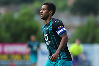 Wayne Routledge of Swansea City during the pre season friendly match between Exeter City and Swansea City at St James Park in Exeter, England, UK. Saturday, 20 July 2019