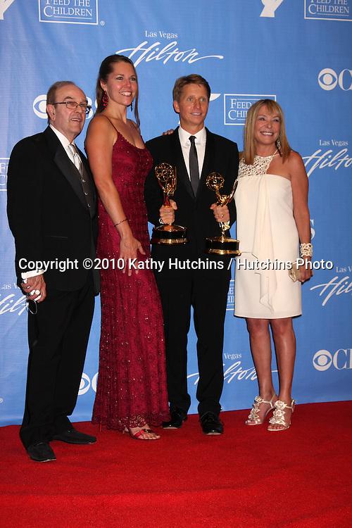 Ron Weaver, Cynthia Popp, Brad Bell, and Rhonda Friedman.in the Press Room at the 2010 Daytime Emmy Awards .Las Vegas Hilton Hotel & Casino.Las Vegas, NV.June 27, 2010.©2010 Kathy Hutchins / Hutchins Photo....