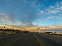 Tour of the paved road of Sonora. semi cloudy sky landscapes. Recorrido por la carretera pavimentada de Sonora. piasajes de cielo semi nublado <br /> (Photo: Luis Gutierrez / NortePhoto.com)