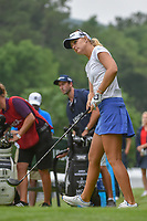 Anna Nordqvist (SWE) watches her tee shot on 10 during round 1 of the U.S. Women's Open Championship, Shoal Creek Country Club, at Birmingham, Alabama, USA. 5/31/2018.<br /> Picture: Golffile   Ken Murray<br /> <br /> All photo usage must carry mandatory copyright credit (© Golffile   Ken Murray)