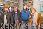 "Barndance: Attending the Feonanagh/Castlemahon Players presentation of Tralee playwright John Fraher's play ""Barndance""  at St John's Arts Centre in Listowel on Saturday night last were Joan Moloney, Asdee, Playwriter John Fraher, Brendan Brosnan, Tralee & Kathleen Griffin, Coolagown, Listowel."