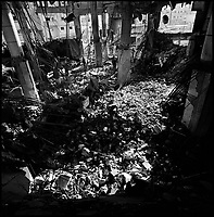 Rafah, Gaza Strip, Jan 15 2009.Al Abrahr mosque was the largest in Rafah, it was destroyed by a massive Israeli air strike at 12:30 AM on January 15, killing 4.