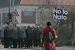 Anti-Nato demonstration in Strasbourg