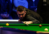 27th February 2020; Waterfront, Southport, Merseyside, England; World Snooker Championship, Coral Players Championship; Mark Selby (ENG) at the table during his quarter final match against Stephen Maguire (SCO)