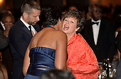 Senior Advisor to the President Valerie Jarrett and mayor of Washington, D.C. Muriel Bowser attend the annual White House Correspondent's Association Gala at the Washington Hilton hotel April 25, 2015 in Washington, D.C. The dinner is an annual event attended by journalists, politicians and celebrities.<br /> Credit: Olivier Douliery / Pool via CNP