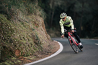 John DEGENKOLB (DEU/Trek-Segafredo)<br /> <br /> Team Trek-Segafredo men's team<br /> training camp<br /> Mallorca, january 2019<br /> <br /> ©kramon
