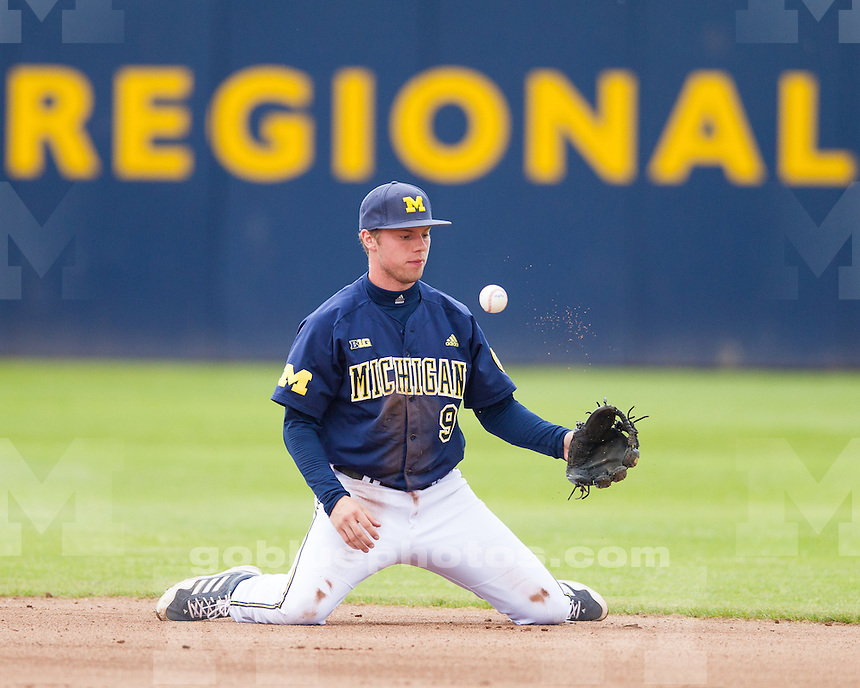 The University of Michigan baseball team beat Purdue, 10-6, at the Wilpon Baseball Complex in Ann Arbor, Mich., on May 11, 2013.