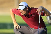 Justin Rose (ENG) on the 17th green during Friday's Round 2 of the 2018 Turkish Airlines Open hosted by Regnum Carya Golf &amp; Spa Resort, Antalya, Turkey. 2nd November 2018.<br /> Picture: Eoin Clarke | Golffile<br /> <br /> <br /> All photos usage must carry mandatory copyright credit (&copy; Golffile | Eoin Clarke)