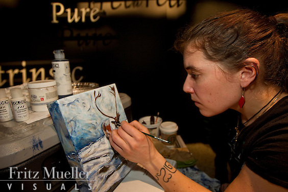 NWT painter Jennifer Walden