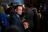Dan Scavino Jr., White House director of social media, attends a congressional Gold Medal ceremony for former Senator Bob Dole, in Washington D.C., U.S., on Wednesday, Jan. 17, 2018. Photographer: Al Drago/Bloomberg<br /> Credit: Al Drago / Pool via CNP