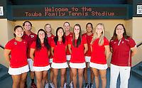 The Stanford Womens Tennis Team. Photo taken on Monday, September 23, 2013.