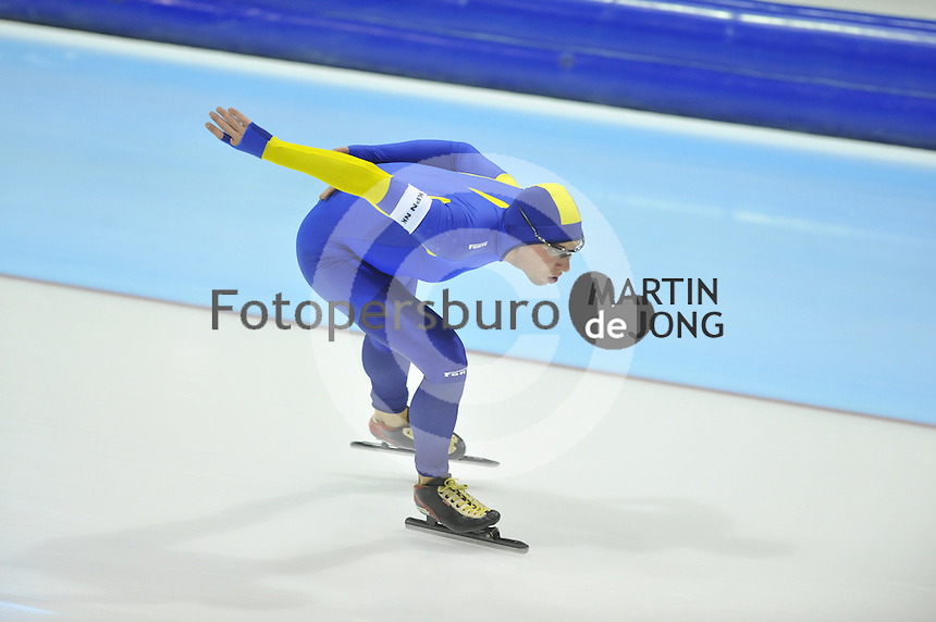 SCHAATSEN: HEERENVEEN: 26-12-2013, IJsstadion Thialf, KNSB Kwalificatie Toernooi (KKT), 5000m, Arjen van der Kieft, ©foto Martin de Jong