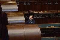 Roma, 20 Aprile 2013.Camera dei Deputati.Votazione del Presidente della Repubblica a camere riunite..Silvio Berlusconi si appresta a votare