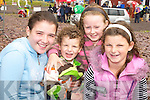All smiles at the Glenbeigh Races on Saturday afternoon were Hazel Foley, Killorglin, Brian Cahill, Glenbeigh, Chloe Cahill, Glenbeigh and Shannon Foley, Killorglin.   Copyright Kerry's Eye 2008