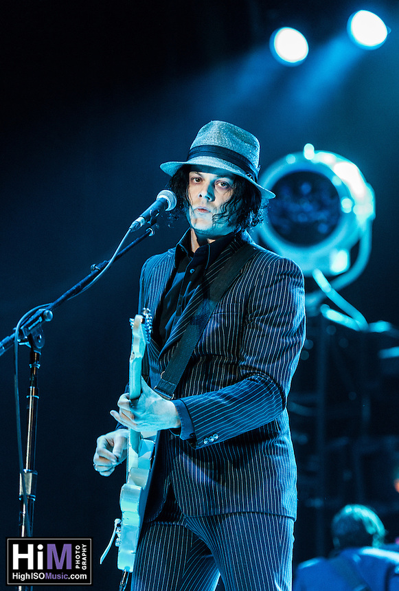Jack White performs at Voodoo Fest 2012 in New Orleans, LA.