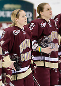 Shannon Webster (Boston College - 12), (Harris) - The Boston College Eagles defeated the Northeastern University Huskies 3-1 in the opening round of the Beanpot on Tuesday, February 3, 2009, at Matthews Arena in Boston, Massachusetts.