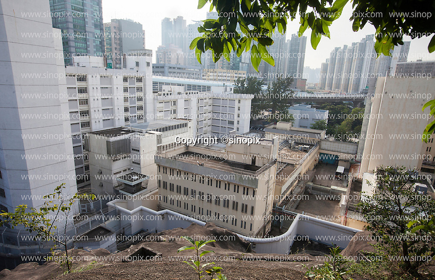 A general view of the Lai Chi Kok Reception Centre where British ex-banker Rurik Jutting is being held since his arrest for the alleged killing of two Indonesian women in October 2014, Hong Kong, China, 01 November 2016.