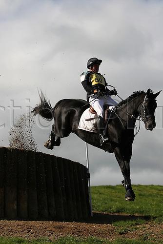 25.09.2010 Equestrian Aske Horse trials, North Yorkshire, UK. . James Adams Loumic Laphia.