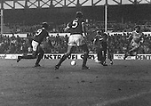 26/08/1980 Everton v Blackpool League Cup 2nd Round 1st Leg .Jim McDonagh denies Colin Morris....© Phill Heywood.