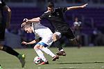 Orlando, Florida - Monday January 15, 2018: Alex Roldan and Brian Iloski. Match Day 2 of the 2018 adidas MLS Player Combine was held Orlando City Stadium.