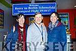 Noel Ryan Kerry Airport gave a fond farewell to Corinna Kinchin and Joanne Hannager from Miramo Kenmare who were off to Dita Europe on the inaugural flight to Berlin on Sunday morning
