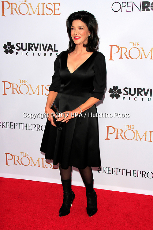 """LOS ANGELES - APR 12:  Shohreh Aghdashloo at the """"The Promise"""" Premiere at the TCL Chinese Theater IMAX on April 12, 2017 in Los Angeles, CA"""