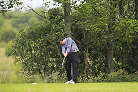Philip Kelly (Co. Sligo) on the 14th tee during Round 4 of the Connacht Stroke Play Championship at Athlone Golf Club Sunday 11th June 2017.<br /> Photo: Golffile / Thos Caffrey.<br /> <br /> All photo usage must carry mandatory copyright credit     (&copy; Golffile | Thos Caffrey)