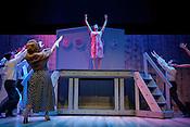 "Sara Spadacene and the cast of ""Dames at Sea"" perform at Hot Summer Nights at the Kennedy."
