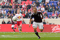 Brian Mullan (11) of the Colorado Rapids. The New York Red Bulls defeated the Colorado Rapids 4-1 during a Major League Soccer (MLS) match at Red Bull Arena in Harrison, NJ, on March 25, 2012.