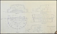 BNPS.co.uk (01202 558833)<br /> Pic: PropStore/BNPS<br /> <br /> Star Trek: The Motion Picture: Epsilon Nine Interior Blueprint.<br /> <br /> Fascinating blueprints from the early Star Wars and Star Trek films have been unearthed.<br /> <br /> An auction house is selling a selection of blueprints which include front elevations of R2-D2, interior and exterior set renderings of the Millennium Falcon and front, side and bottom views of the USS Enterprise as well as USS Enterprise set plans.<br /> <br /> The blueprints - many of which have never before been seen by the public - provide a unique insight to fans of the iconic films about how they were made.
