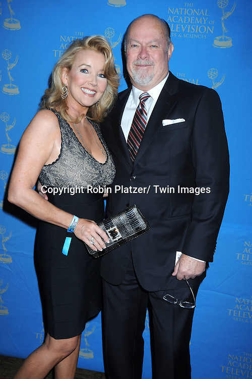 Melody Thomas Scott and Ed Scott attending The 38th Annual Creative Arts Emmy Awards on June 17, 2011 at The Westin Bonaventure Hotel in Los Angeles in California.