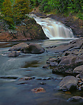 Upper Falls, Brule River, Judge C.R. Magney State Park, Minnesota