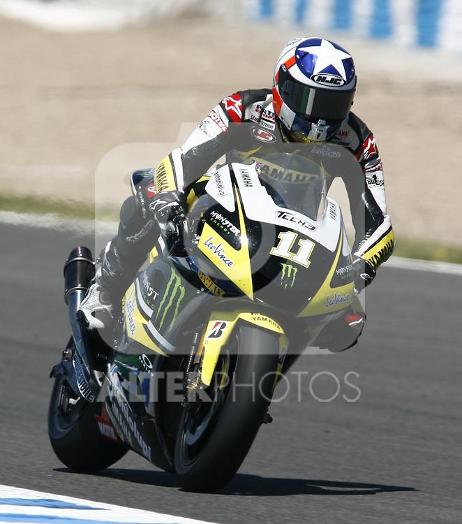 MOTOCICLISMO - G.P. ESPAÑA - JEREZ DE LA FRONTERA - 2/5/2010 - MOTOGP - BEN SPIES