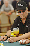Author Jim McManus made the final table in a 2K Pot Limit Hold-em event.