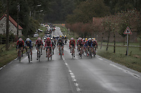 With strong winds from the start, it doesn't take long before echelons start forming: <br /> the 1st break in the peloton (led by Etixx-Quickstep &amp; Lotto-Soudal and that would never thereafter re-group) was made after only 20 km's of racing and left the major part of the riders out of the race... <br /> <br /> Tour de l'Eurom&eacute;tropole 2016 (1.1)<br /> Poperinge &rsaquo; Tournai (196km)/ Belgium