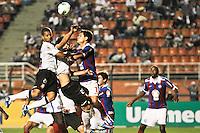 ATENÇÃO EDITOR: FOTO EMBARGADA PARA VEÍCULOS INTERNACIONAIS SÃO PAULO,SP,20 OUTUBRO 2012 - CAMPEONATO BRASILEIRO - CORINTHIANS x BAHIA - Guilherme Andrade jogador do Corinthians durante partida Corinthians x Bahia válido pela 32º rodada do Campeonato Brasileiro no Estádio Paulo Machado de Carvalho (Pacaembu), na região oeste da capital paulista na tarde deste domingo (32).(FOTO: ALE VIANNA -BRAZIL PHOTO PRESS).