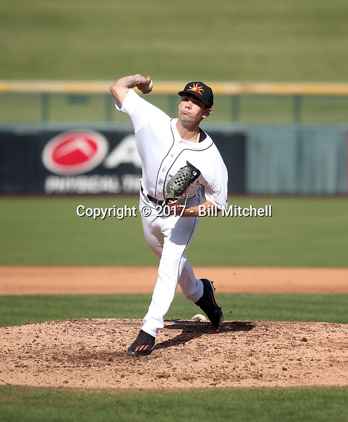 Mark Ecker - Mesa Solar Sox - 2017 Arizona Fall League (Bill Mitchell)