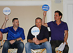 John Driscoll - Sean Carrigan, Christian LeBlanc - Actors from Y&R donated their time to Southwest Florida 16th Annual SOAPFEST - a celebrity weekend May 22 thru May 25, 2015 benefitting the Arts for Kids and children with special needs and ITC - Island Theatre Co. as it presented A Night of Stars on May 23 , 2015 at Bistro Soleil, Marco Island, Florida. (Photos by Sue Coflin/Max Photos)