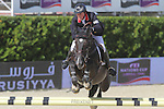 29.09.2013 Barcelona, Spain. Furusiyya FEI Nations Cup Final. Picture show Ben Maher (GBR) riding Tripple X III at Club de Polo