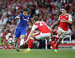 Chelsea's Cesc Fabregas in action during the Premier League match at the Emirates Stadium, London. Picture date September 24th, 2016 Pic David Klein/Sportimage