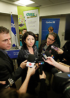 Montreal (qc) CANADA -  Dec 2011 file photo -<br />  - Line Beauchamps, Quebec education minister