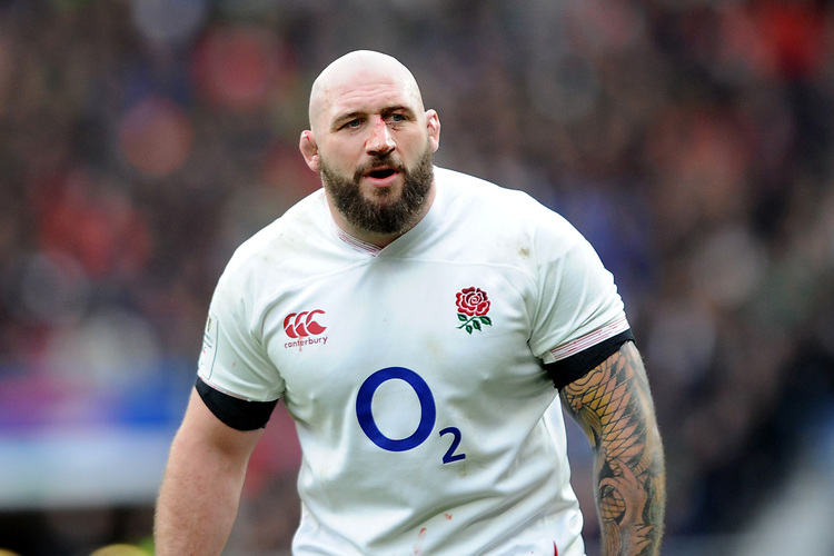Joe Marler of England during the Guinness Six Nations match between England and Ireland at Twickenham Stadium on Sunday 23rd February 2020 (Photo by Rob Munro/Stewart Communications)